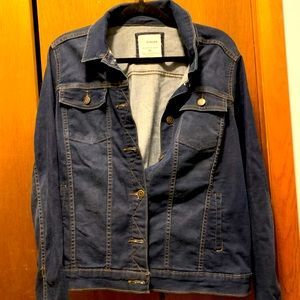 Women's Sonoma XL jean jacket. New without tags.